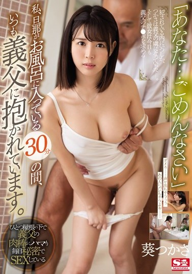 >SSNI-154 Tsukasa Aoi พ่อผัวตัวตีท้ายครัว ซับไทย jav