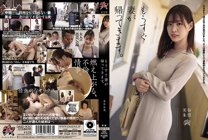 >DASD-900 ซับไทย Akari Mitani ชู้รัก ปรุงรส AV SUBTHAI